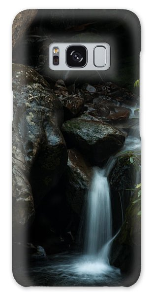 Small Waterfall Galaxy Case by Jay Stockhaus
