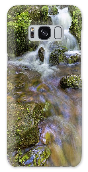 Galaxy Case - Small Waterfalls Along Wahkeena Creek by David Gn