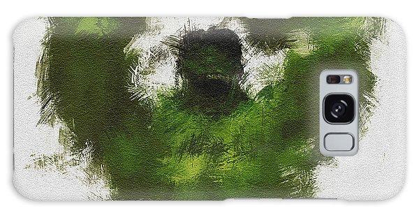 The Avengers Galaxy Case - Smashing Green by Miranda Sether
