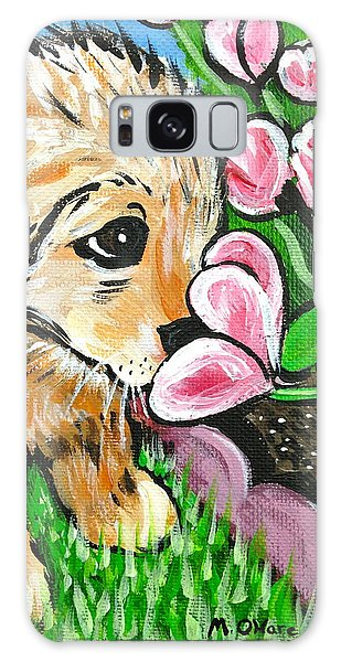 Smelling The Flowers Galaxy Case