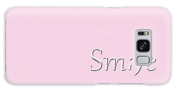 Smile Galaxy Case by Cherie Duran