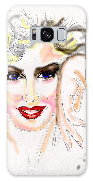 Smile For Me Marilyn Galaxy Case