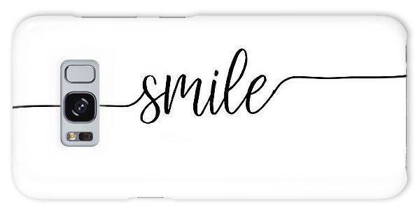 Smile Galaxy Case by Jaime Friedman