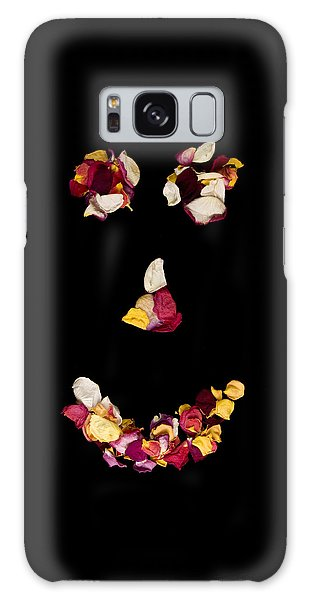 Smiley Rose Galaxy Case