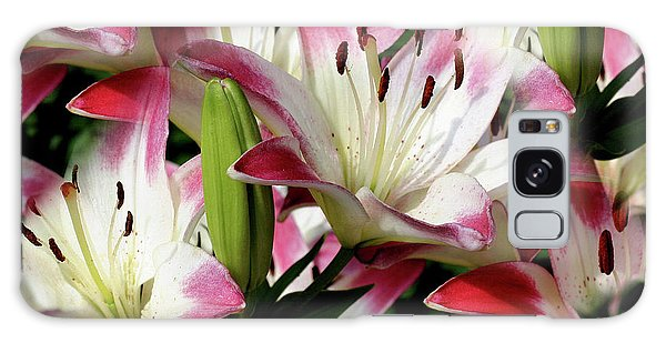 Smiling Lilies Galaxy Case