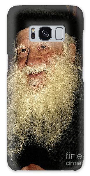 Smiling Picture Of Rabbi Yehuda Zev Segal Galaxy Case
