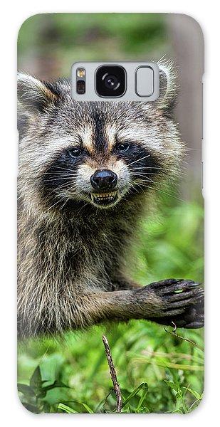 Smiling Raccoon Galaxy Case