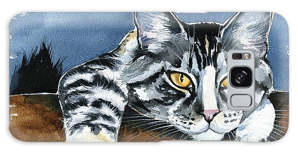 Smilla - Maine Coon Cat Painting Galaxy Case