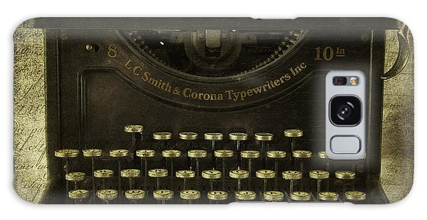 Smith And Corona Typewriter Galaxy Case