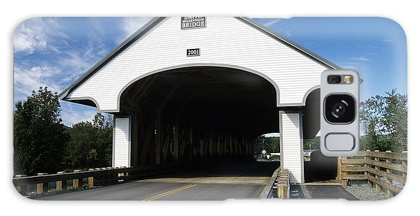 Smith Covered Bridge - Plymouth New Hampshire Usa Galaxy Case