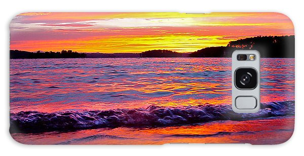 Smith Mountain Lake Surreal Sunset Galaxy Case