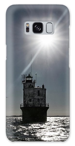 Smith Point Lighthouse Galaxy Case