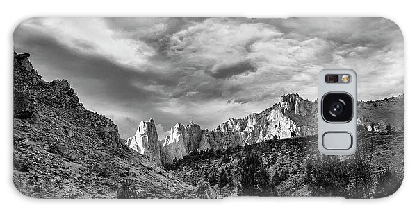 Smith Rock Bw Galaxy Case