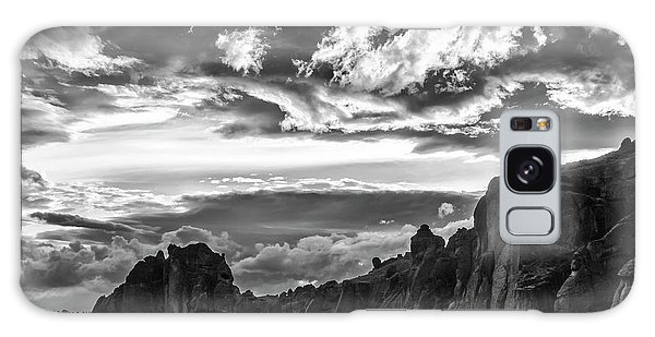 Smith Rock Skies Galaxy Case