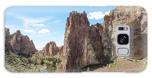 Smith Rock State Park Pathway Galaxy Case