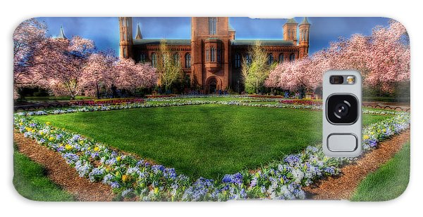 Spring Blooms In The Smithsonian Castle Garden Galaxy Case