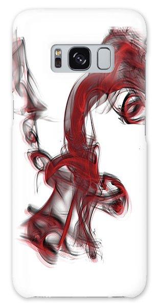 Smoke 01 Red Galaxy Case