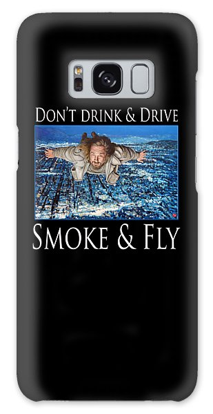 Smoke And Fly Galaxy Case by Tom Roderick