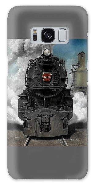 Galaxy Case - Smoke And Steam by David Mittner