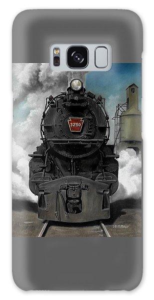 Smoke And Steam Galaxy Case by David Mittner