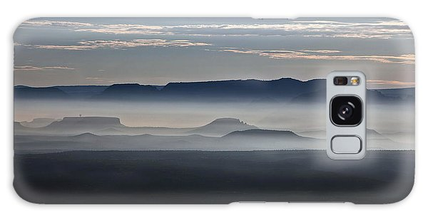 Smoke From Wildfires After Sunrise In The Verde Valley Galaxy Case