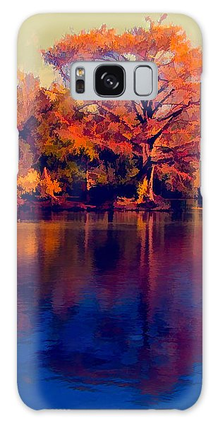 Galaxy Case featuring the digital art Smoke Signals by Wendy J St Christopher