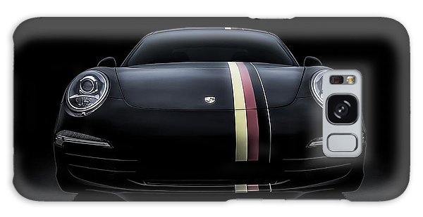 Sport Car Galaxy Case - Black Porsche 911 by Douglas Pittman