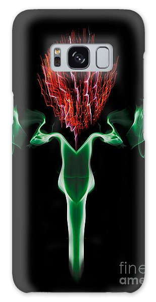 Smoke Thistle Galaxy Case