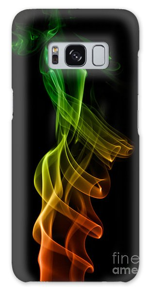 smoke XXII Galaxy Case by Joerg Lingnau