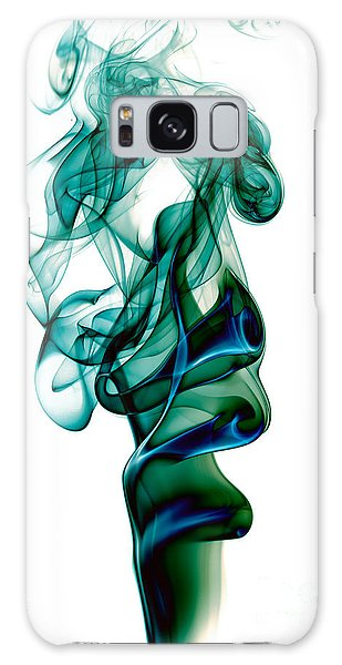 smoke XXIII Galaxy Case by Joerg Lingnau