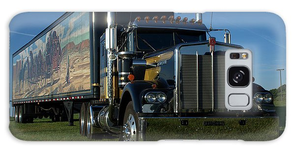 Smokey And The Bandit Tribute Semi Truck Galaxy Case by Tim McCullough