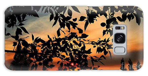 Smoked Filled Sunset Galaxy Case by Janice Westerberg