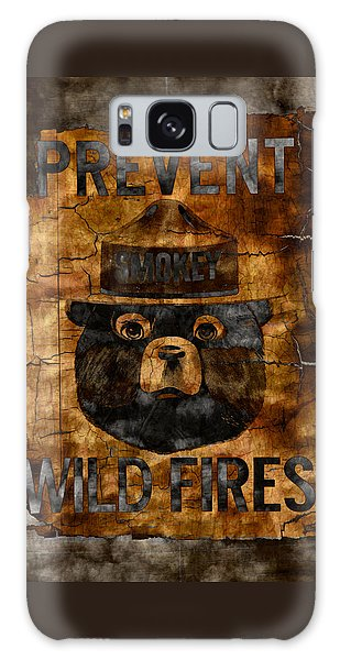Smokey The Bear Only You Can Prevent Wild Fires Galaxy Case by John Stephens