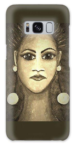 Galaxy Case - Smoking Woman 1 by Joan Stratton