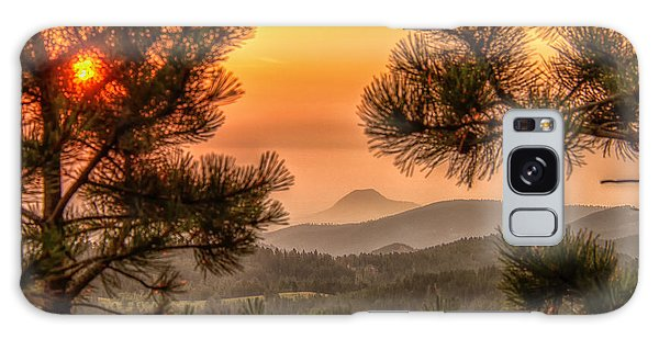 Smoky Black Hills Sunrise Galaxy Case