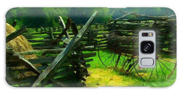 Smoky Mountain Farm 1900s Galaxy Case
