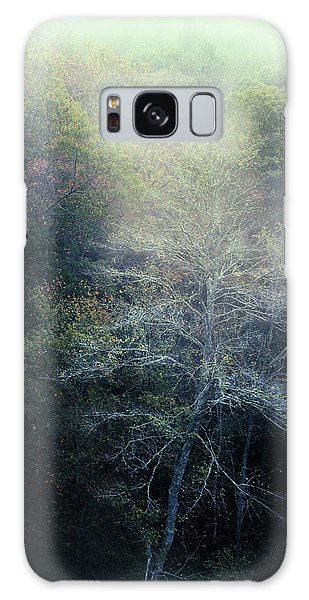 Smoky Mountain Trees Galaxy Case