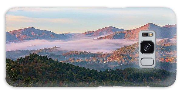 Smoky Mountain Valley Fog Galaxy Case