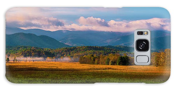 Smoky Mountains At Cades Cove I Galaxy Case