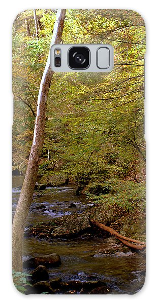 Smoky Mountains River Galaxy Case by Jerry Cahill