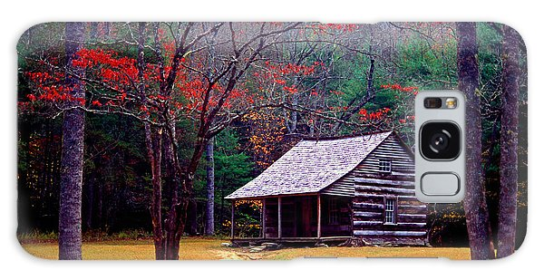 Smoky Mtn. Cabin Galaxy Case