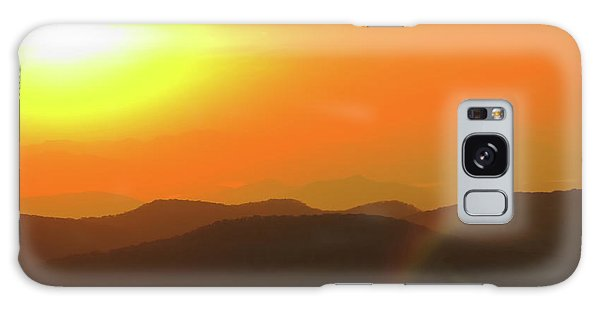 Smoky Sunset  Galaxy Case