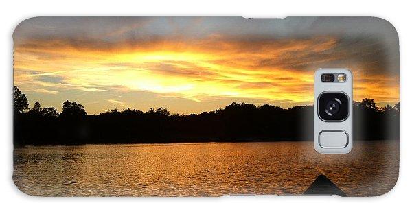 Smoldery Sunset Galaxy Case by Jason Nicholas
