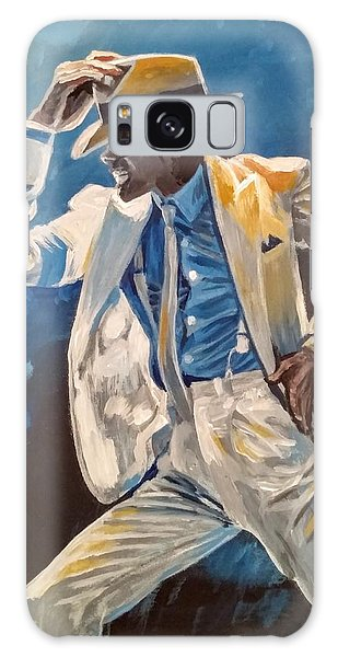 Galaxy Case featuring the painting Smooth Criminal by Jennifer Hotai