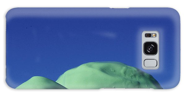 Smooth Green Mountians Galaxy Case