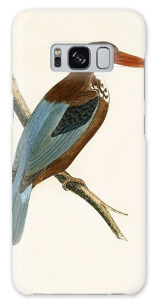Smyrna Kingfisher Galaxy Case
