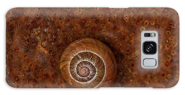 Snail On A Tin Can Galaxy Case
