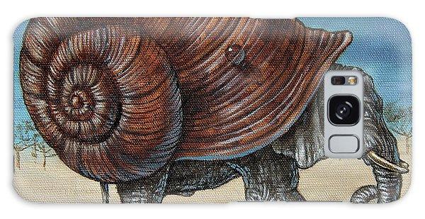 Snailephant Galaxy Case