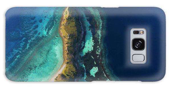 Galaxy Case featuring the photograph Snake Beach Of Flores Island by Pradeep Raja PRINTS