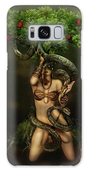 Snake Charmer Galaxy Case by Shanina Conway